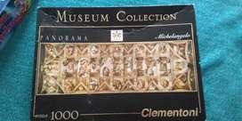 Rompecabezas de 1000 piezas capilla sixtina