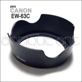 A64 Parasol Ew-63c Canon Lens Hood Lente 18-55mm Petalo