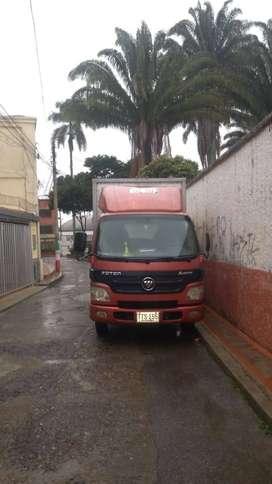 Vendo furgon 2.8 ton 2014