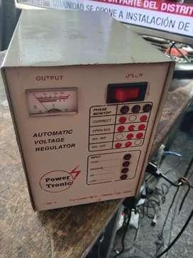 Regulador de voltage ganga