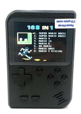 Video juego Poly Tipo GameBoy portable con 168 juegos 8 Bits