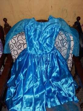 Vestido de Frozen Talla 6