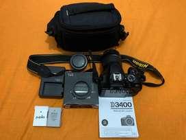 Cámara Nikon D3400  Accesorios