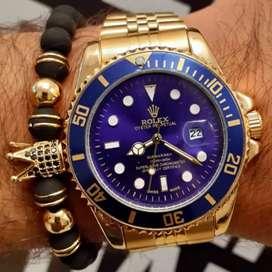 Reloj para caballero dorado