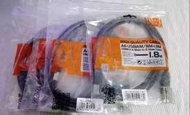 Cable Usb 2.0 De 1.8 Metros Tipo A-b  Para Impresoras,proyectores, escaner y todo dispositivo