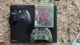Xbox one fat dos controles un juego