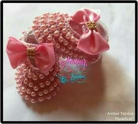 Zapatos Tejidos Coleccion Perlas