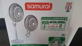 VENTILADOR SAMURAI - AIR PROTEC MAXX