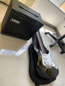 Guitarra electrica Yamaha + amplificador Laney
