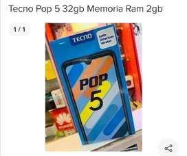 Vendo smartphone tecno pop 5 de 32 internas y 2 de ram