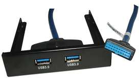 Cable Conector Usb 3.0 Panel Frontal Pc 3.5 Super Speed.