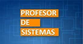 Profesor de Sistemas en Medellín.