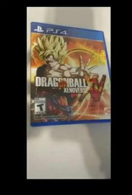 juego ps4 dragon ball xenoverse xv