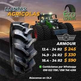 LLANTAS AGRICOLAS 12,4 - 24 R2 / 14,9 - 24. R2 /  18,4 -34 R2