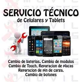 Servicio técnico celulares/tablets, netbooks/nootbooks/PC