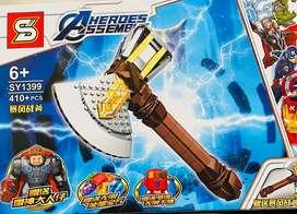 Lego del martillo de Thor ENVIÓ GRATIS