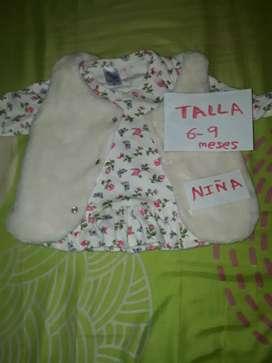 Lote ropa niña talla 0 a 6 meses