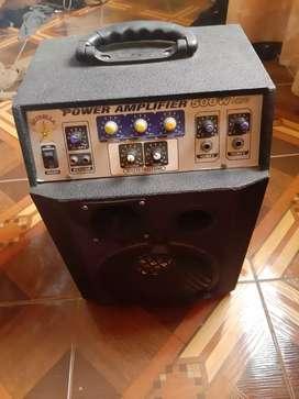 Vendo megafono y amplificador parlante