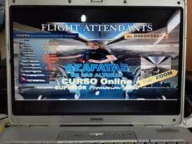 FLIGHT ATTENDANTS AZAFATAS CURSO ONLINE