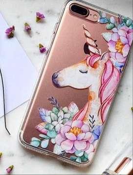 Funda Tpu Diseño Unicornio Floral  ️para Samsung J7 2015, J7 2016, J7 Neo Xiaomi Mi A1, 5 Plus Ramos Mejia
