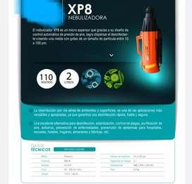 Nebulizadora XP8