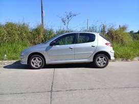 Peugeot 206  XT modelo 2008