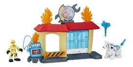 Heroes Rescue Bots Griffin Rock Garage