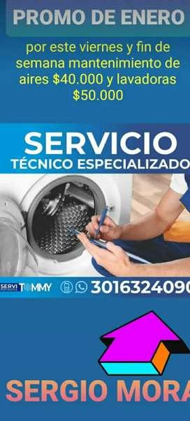 Servició técnico electrodomésticos de línea blanca