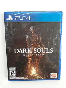 Dark Souls Remastered Juego Ps4 Nuevo Y Sellado