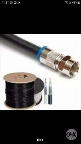 CABLE COAXIL RG 6