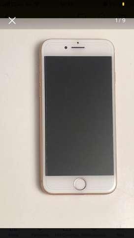 Vendo iphone 8 gold rose