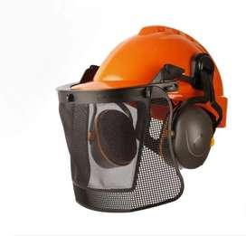 Protector facial auditivo desmalezador libus