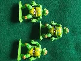 Muñecos Tortugas Ninja Vintage