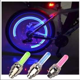 Luces LED intermitentes para válvula de rueda  par