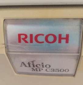 Fotocopiadora ricoh aficio c 3500