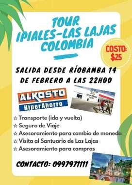 Tour IPIALES COLOMBIA