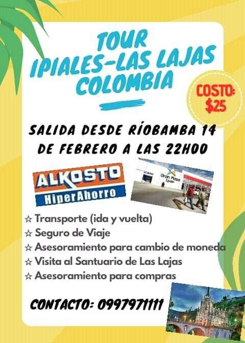 Tour IPIALES COLOMBIA 0