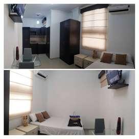 Suites estudio Condominio privado tipo Hotel zona centro Cerca Malecon Salado Universidad