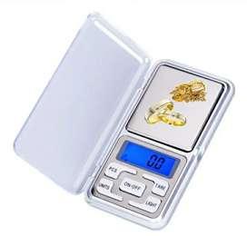 Mini pesa bascula balanza gramera digital de precisión para joyas