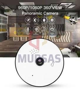 Cámara Panorámica Doble Vía Audio 1080 Full HD 360°