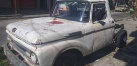 Vendo F100 1962..Lista para transferir !!