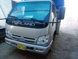 camion Forland 3.5 tn año 2015. Kilometraje: 20,000