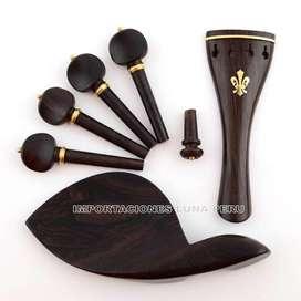venta accesorios cavijas y cordal para violin