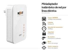 Nexxt Sparx 200w Adaptador Inalámbrico -red Eléctrictrica