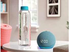 Alexa Echo Dot clock