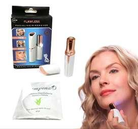 maquina depiladora facial eléctrica + crema depilatoria corporal