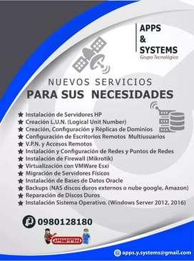 Aplicaciones y sistemas