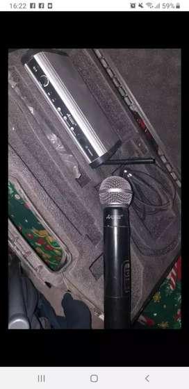 Vendo micrófono inalámbrico