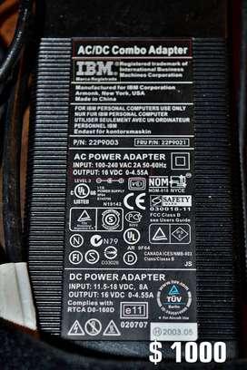 Adaptador IBM AC/DC combo