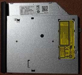 La LectoGrabadora de CD/DVD NOTEBOOK ASUS X455L.